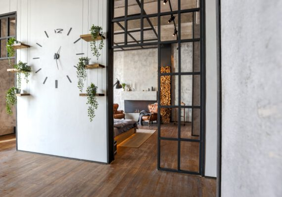 Haal een prachtige stalen deur in huis